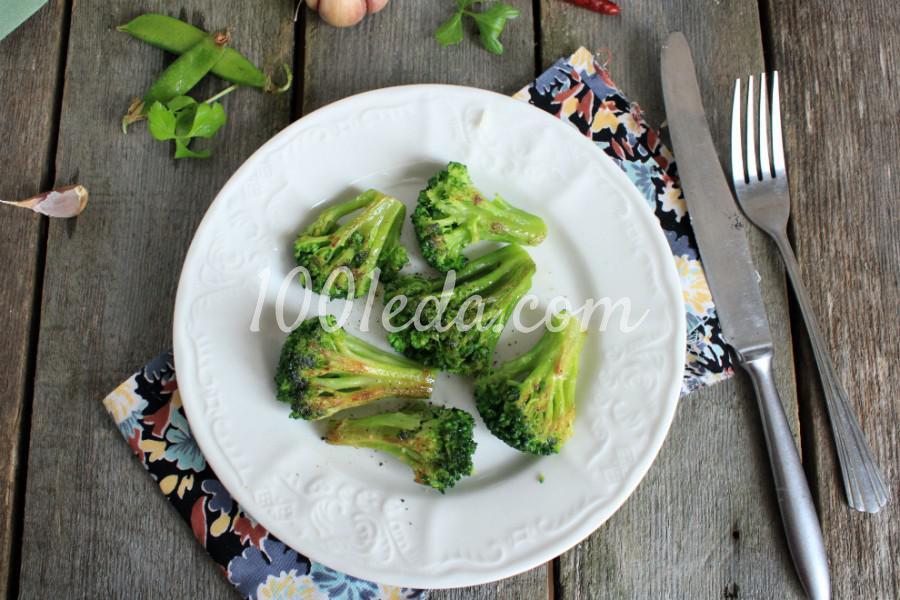 Полезная жареная капуста брокколи: пошаговый с фото