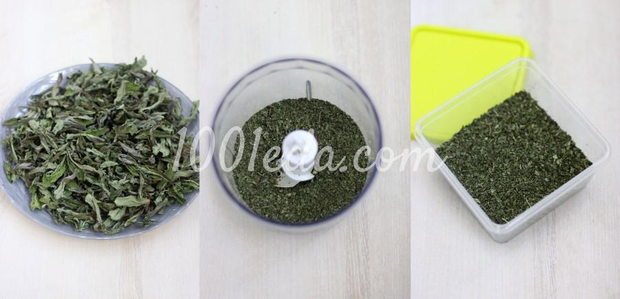 Заготовка мяты: пошаговое фото