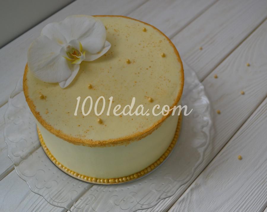 """Невероятно вкусный торт Персик-манго """"До свидания, Лето!"""""""