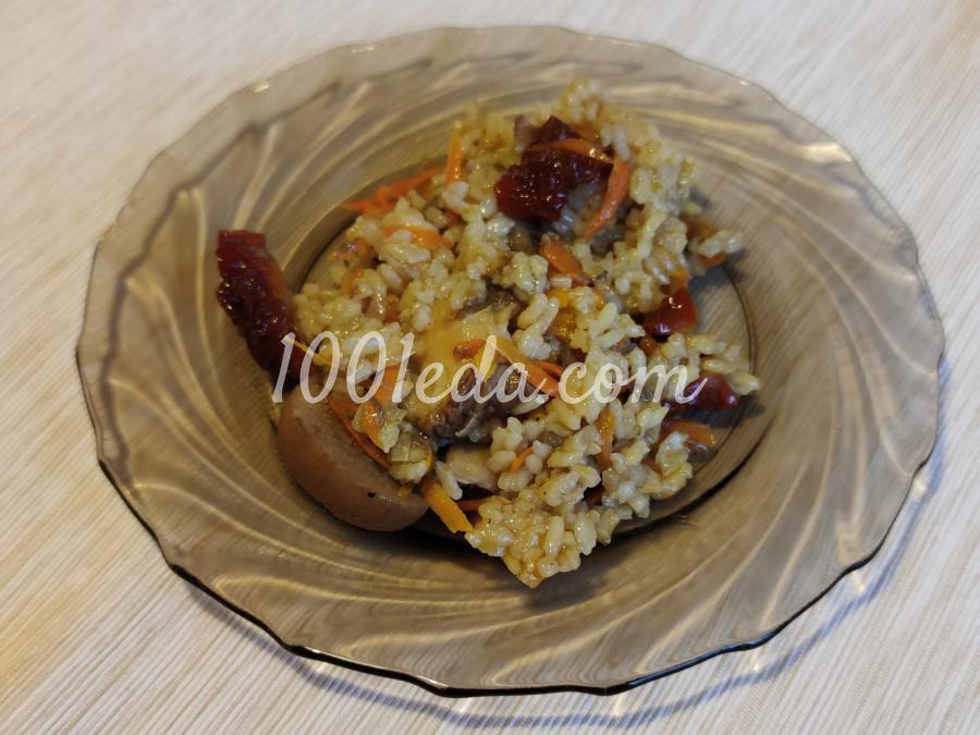 Рис с грибами: пошаговое фото