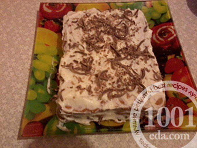 Десерт творожный без выпечки на новогодний стол
