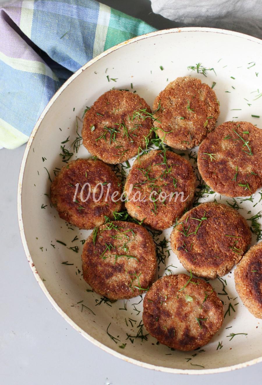 Вкусные рыбные котлеты