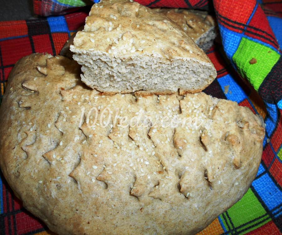 Вкусный хлеб из ржаной и пшеничной муки для вегетарианцев и всех остальных