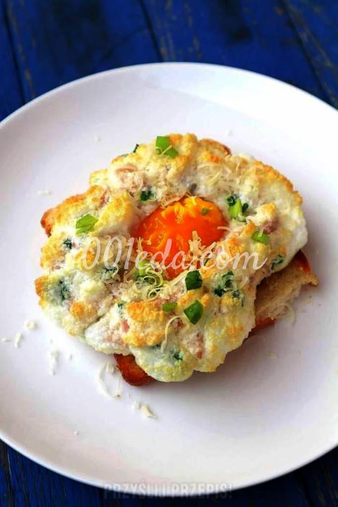 "Вкусный завтрак ""Яйца на облаке"""