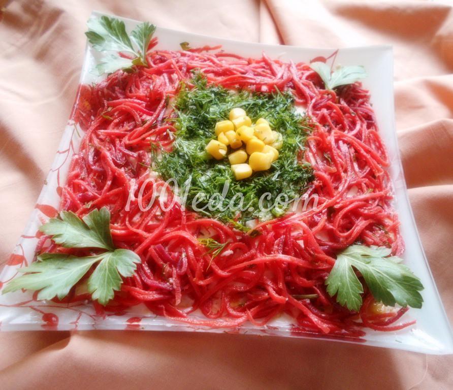 Вкусный салат для любого стола с морковью по-корейски