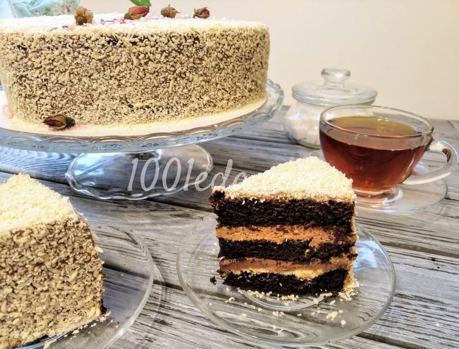 """Вкусный домашний торт """"Любовь в шоколаде"""": пошаговый с фото"""