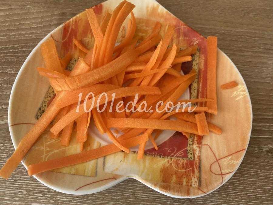 Удон с кальмарами и овощами: пошаговый с фото - Шаг №2