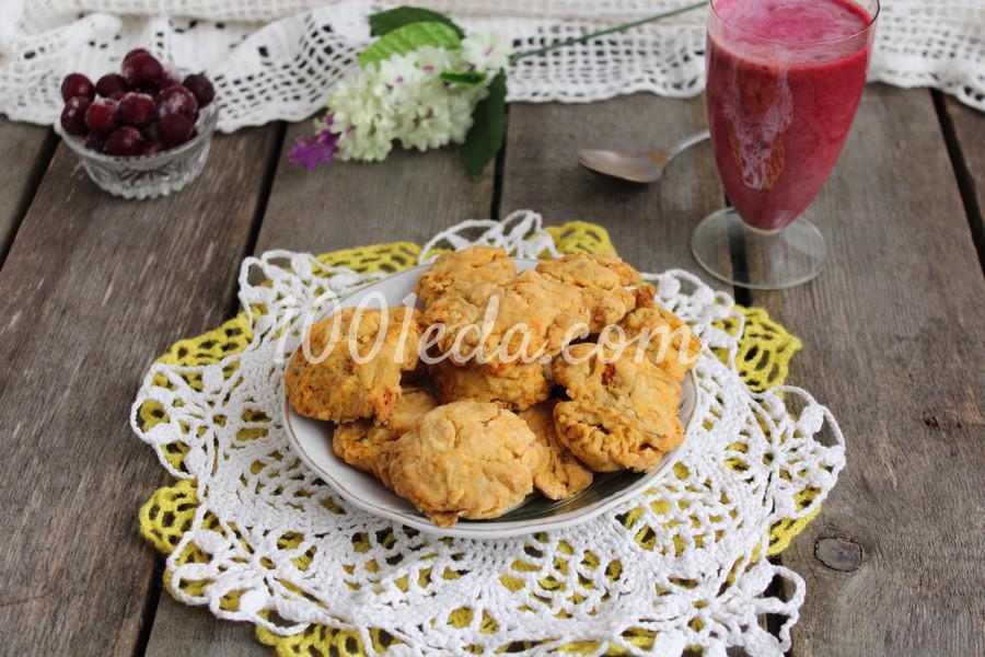Морковное печенье: пошаговое фото