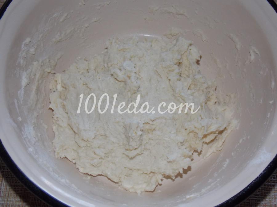 Ленивые вареники с клубникой на сковороде: пошаговый с фото - Шаг №5