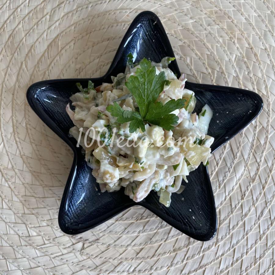 Салат с кальмаром: пошаговый с фото - Шаг №5