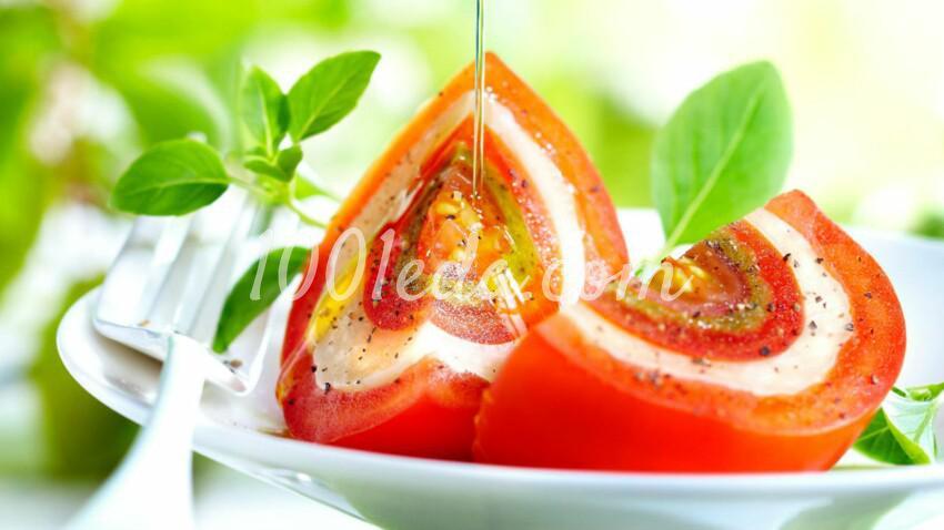 Гигантский томат-моцарелла